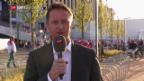 Video «Einschaltung vor Schweiz - Slowakei» abspielen