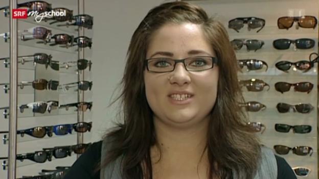 Video «Berufsbild: Augenoptikerin EFZ» abspielen