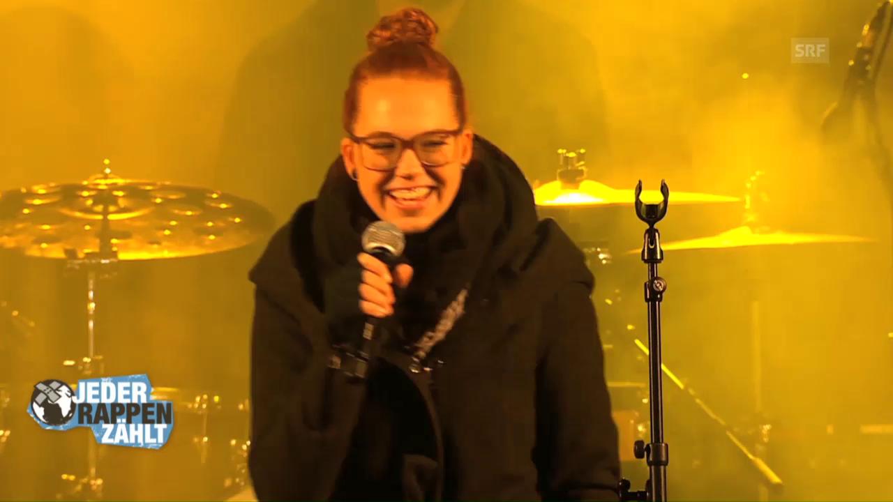 Stefanie Heinzmann auf der «JRZ»-Konzertbühne