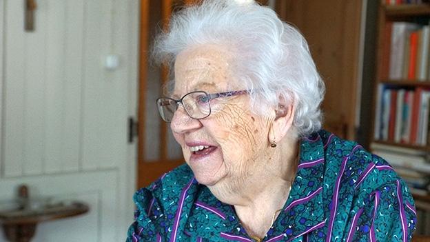 Emma Furrer blickt zurück auf die Geschichte des Lungerersees