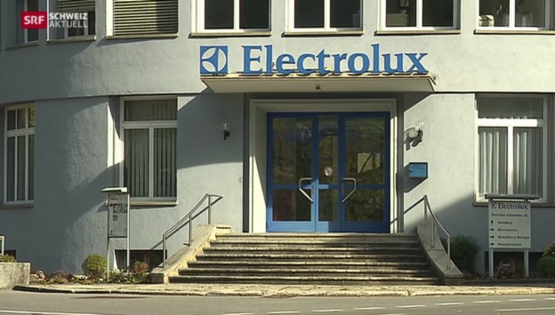 Video «Schliessung der Electrolux-Produktion in Schwanden» abspielen