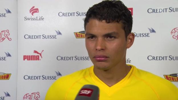 Video «Interview mit Thiago Silva» abspielen