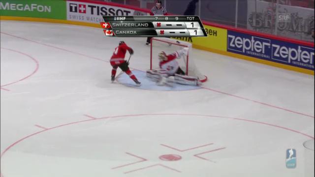 Eishockey: Schweiz besiegt Kanada («sportlive»)
