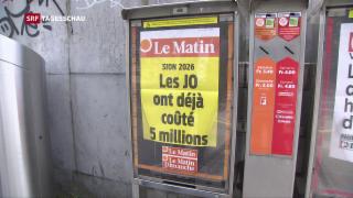 Video ««Le Matin» nur noch digital» abspielen