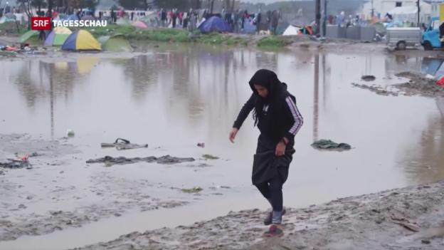 Video «Ein Jahr nach Schliessung der Balkanroute» abspielen