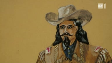 Video «Hommage an einen Indianer – Das Leben des Angy Burri wird Kunst» abspielen