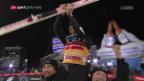 Video «Kobayashi schafft den Grand Slam an der Vierschanzentournee» abspielen