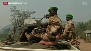 Video «EU schickt Soldaten nach Zentralafrika» abspielen