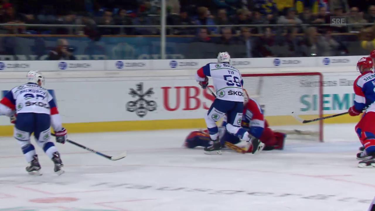 Eishockey: Spengler Cup 2015, Jokerit-Mannheim, 3:4 MacMurchy