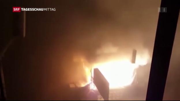 Video «Zahlreiche neue Luftschläge auf Aleppo» abspielen