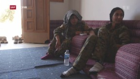 Video «Frauen gegen den IS» abspielen