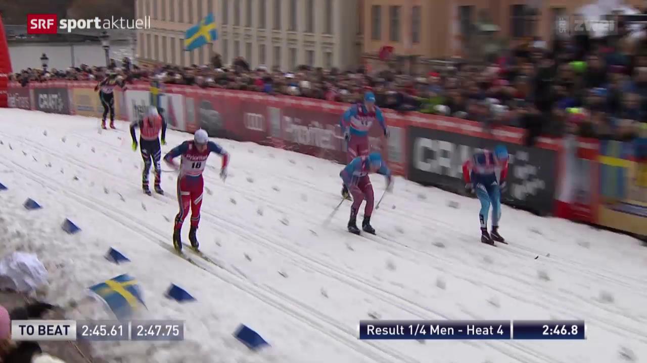 Langlauf: Sprints in Stockholm