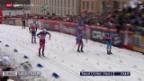 Video «Langlauf: Sprints in Stockholm» abspielen