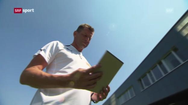 Video «Fussball: Auslosung CL-Quali mit GC und Basel» abspielen