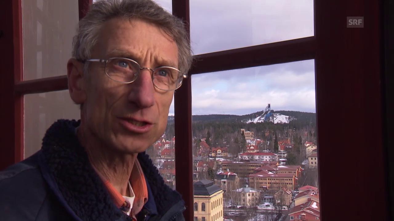 Skispringen: Walter Steiners neues Leben in Falun