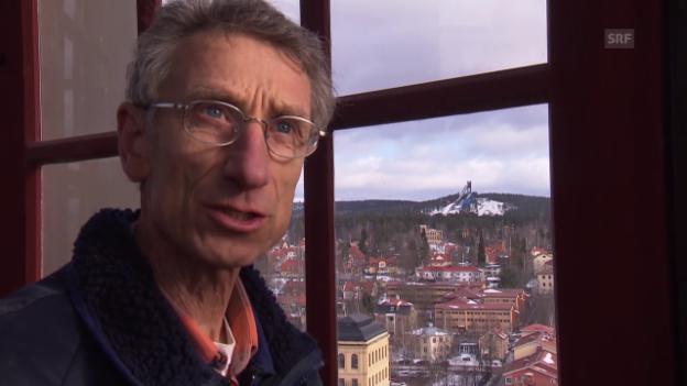 Video «Skispringen: Walter Steiners neues Leben in Falun» abspielen