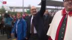 Video «Guy Parmelin in Nyon gefeiert» abspielen