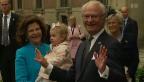 Video «Feiernd: 40-jähriges Thronjubiläum von König Carl Gustaf» abspielen