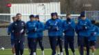 Video «Die Nati am Tag vor dem Spiel in Island» abspielen