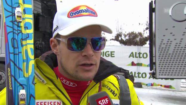 Video «Interview mit Patrick Küng («sportlive», 20.12.13)» abspielen