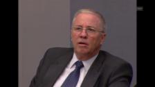 Video «Justizminister Blocher nach der Abstimmung» abspielen