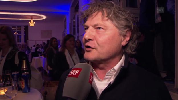 Video «Fussball: Cupfeier FC Zürich, Interview mit Ancillo Canepa» abspielen
