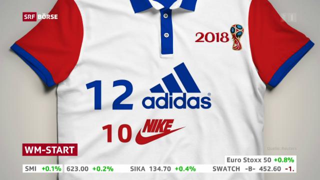 low priced 6ccd9 61b3c Der Kampf der Trikot-Ausrüster - Adidas vs. Nike - das andere WM-Duell -  News - SRF