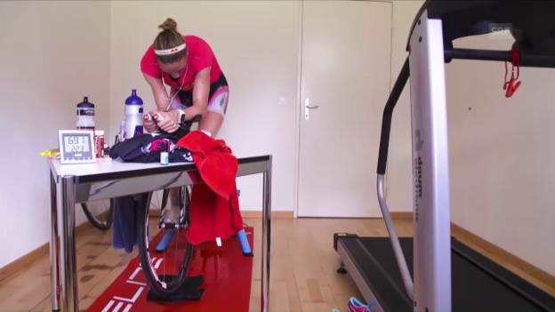 Video «Ryf vor ihrer «Mission Ironman»» abspielen