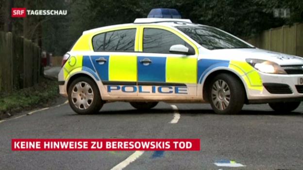 Video «Beresowski offenbar nicht ermordet» abspielen