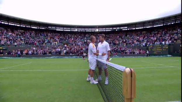 Video «Wimbledon: Highlights Wawrinka - Hewitt (unkomm.)» abspielen