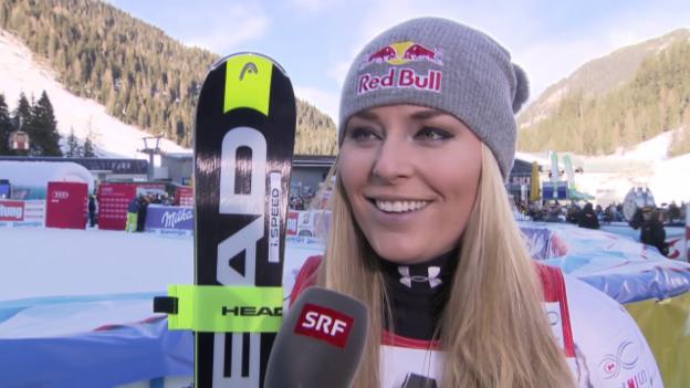 Video «Lindsey Vonn über ihren 73. Weltcupsieg» abspielen