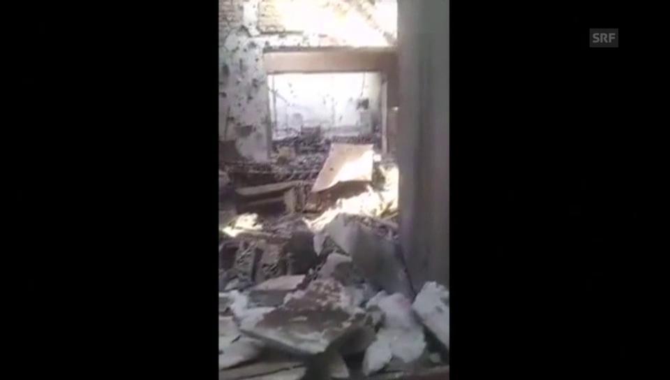 Das MSF-Spital in Kundus nach dem Luftangriff