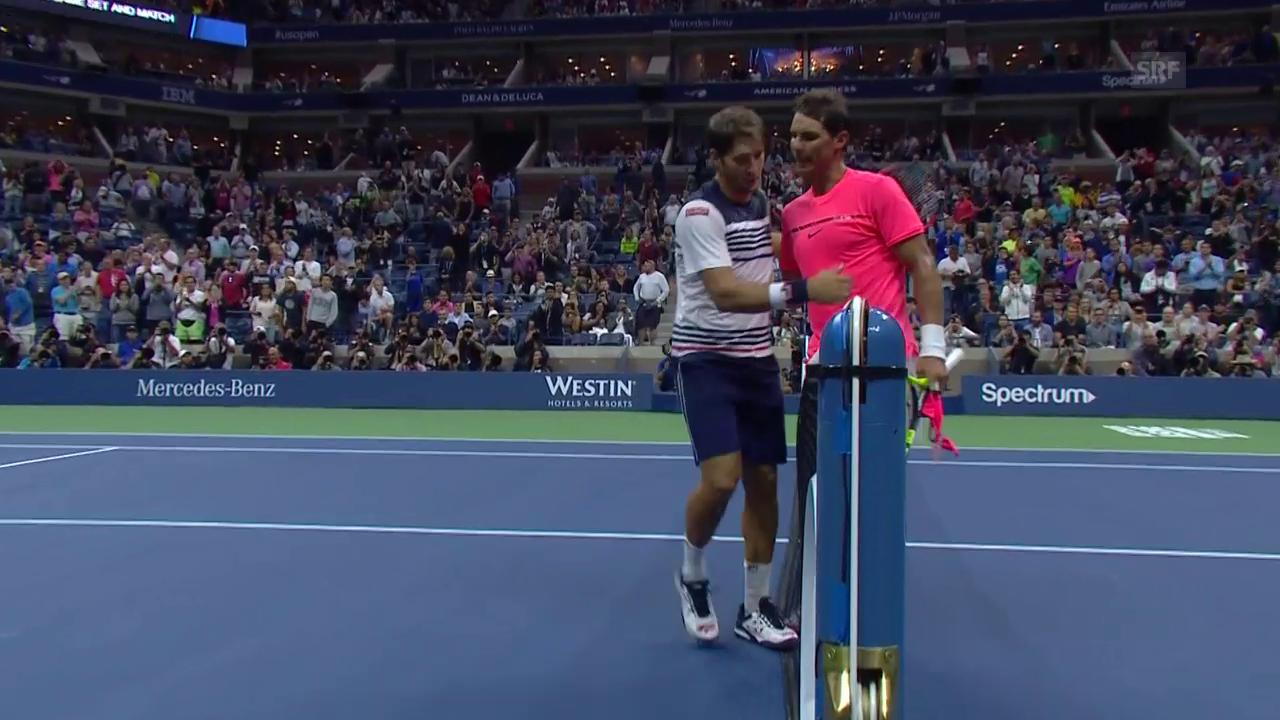 Nadal gegen Lajovic nur zu Beginn mit Mühe