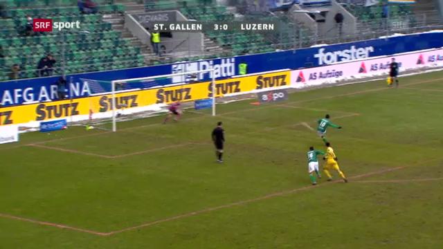 Fussball: St.Gallen - Luzern
