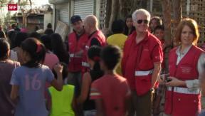 Video «Philippinen aktuell: Schweizer Hilfe für Taifun-Opfer» abspielen