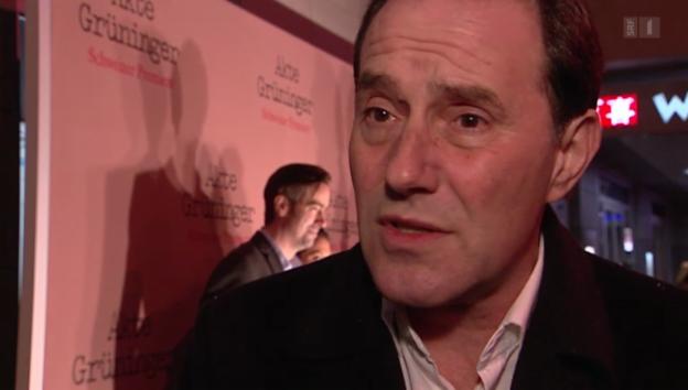 Video ««Akte Grüninger»: Kino-Premiere in St. Gallen» abspielen