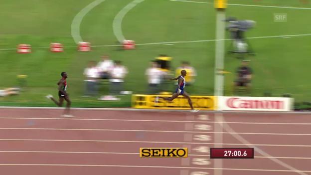 Video «LA-WM: 10'000 Meter Männer, Schlussphase» abspielen