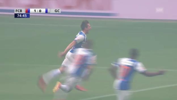 Video «Cupfinal: Die beiden Tore» abspielen