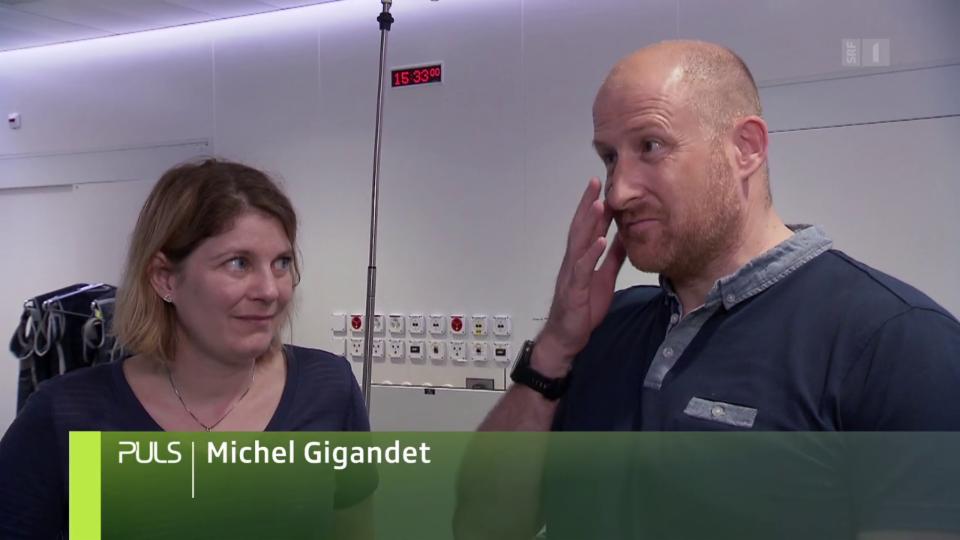 Michel Gigandet erinnert sich nur ungern an den damaligen Zustand seiner Frau.