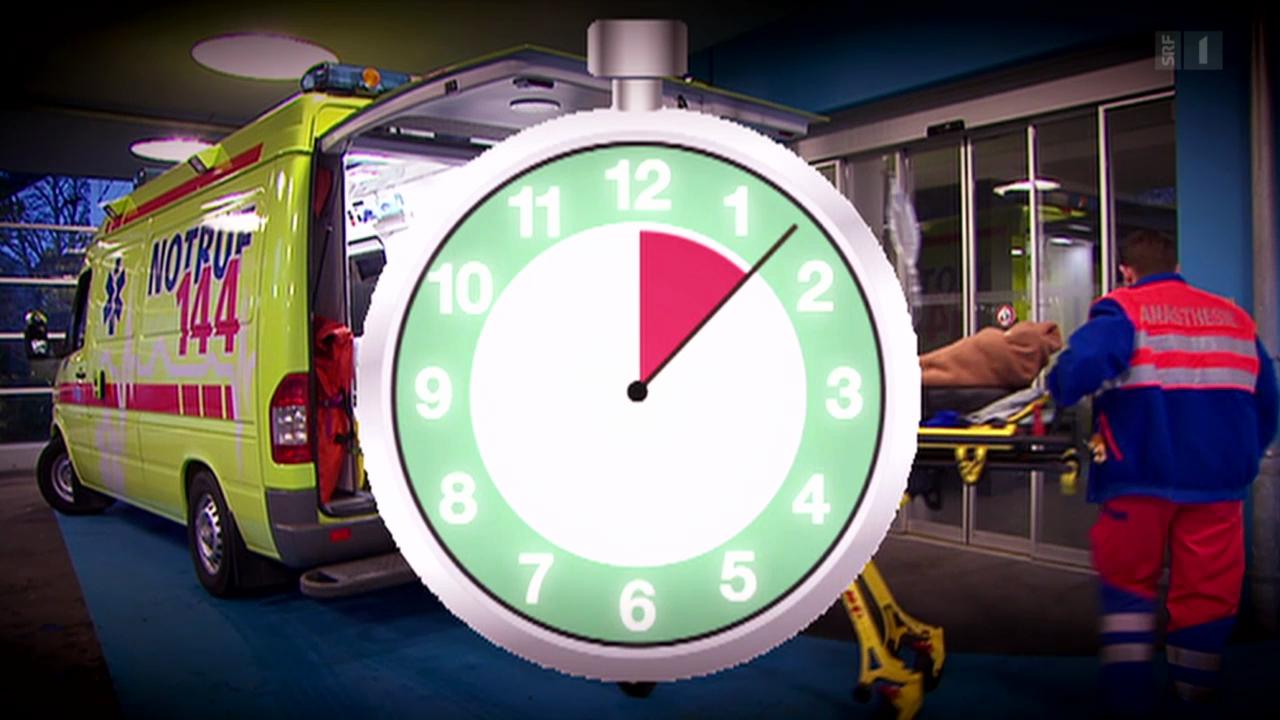 Beim Hirnschlag zählt jede Minute