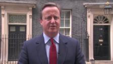 Video «Cameron kündigt Rücktritt an» abspielen