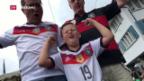 Video «Deutschland gegen Italien – Spannung vor dem Klassiker» abspielen