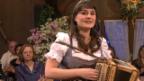 """Video «Sandra Ledermann singt ihren Siegertitel aus dem """"Silvesterstadl""""» abspielen"""