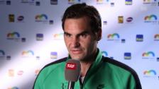 Link öffnet eine Lightbox. Video Federers Ausblick: «Werde mehr in der Offensive agieren können» abspielen