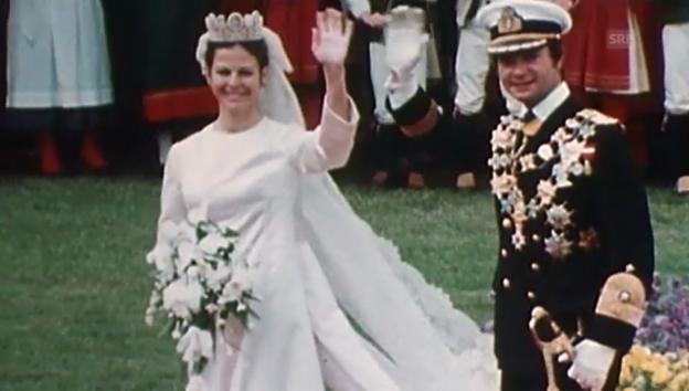 Video «40. Thronjubiläum von König Carl Gustaf» abspielen