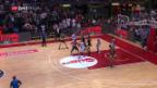 Video «Basketball: Genf holt Cup-Titel denkbar knapp» abspielen