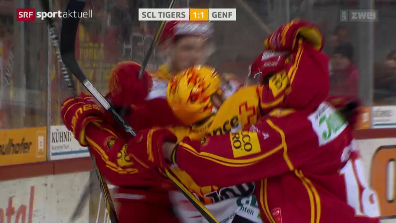 Eishockey: SCL Tigers-Genf
