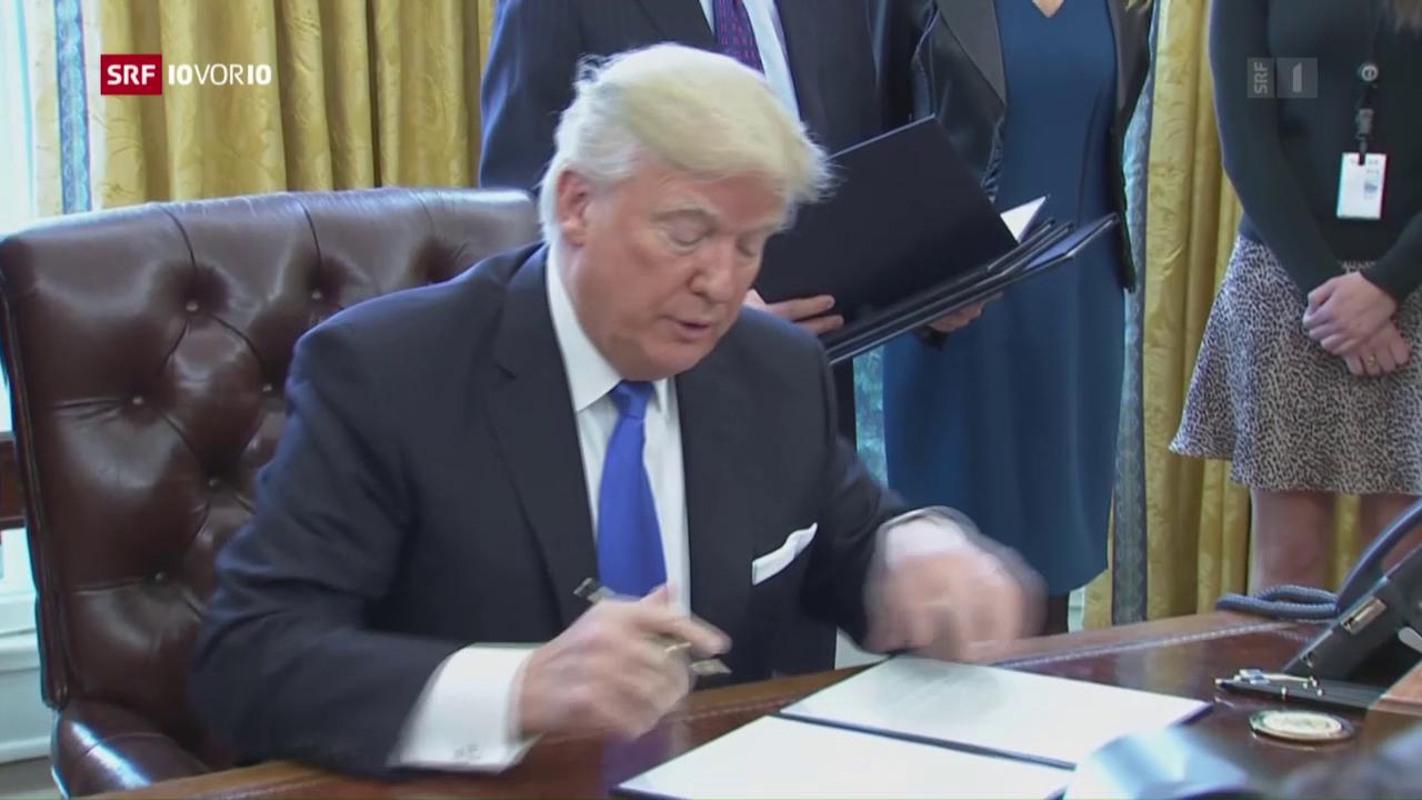 Trump genehmigt Bau von Öl-Pipelines