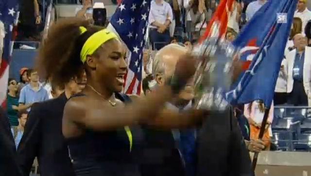 Serena Williams' Triumph bei den US Open 2012