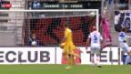 Video «Fussball: Lausanne - Luzern» abspielen